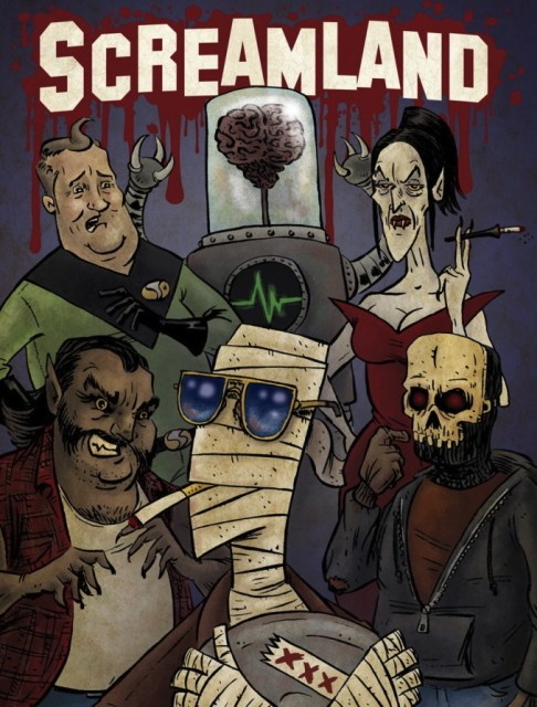 Comic Review: Screamland (Image Comics, 2011)