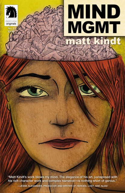 New Comic Reviews: MIND MGMT, The Secret History Of D.B. Cooper