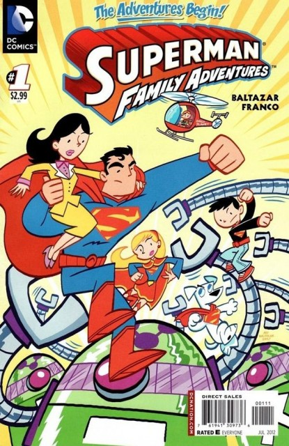 First thoughts on Superman Family Adventures