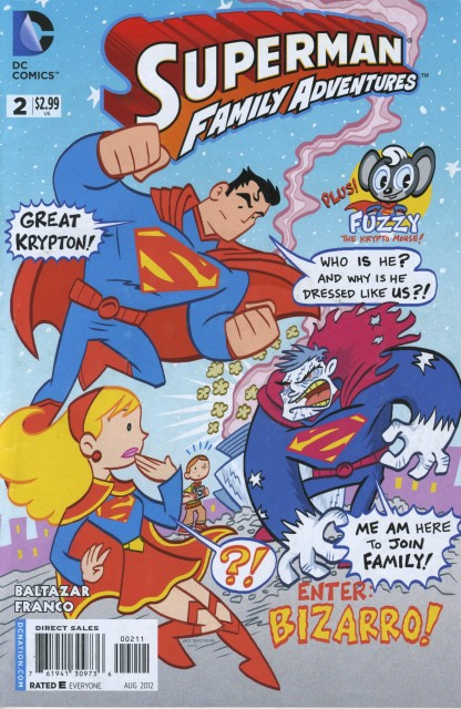 Aw Yeah! Superman Family Adventures #2 Saves the Day!