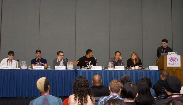 Depth Of Field's Hip-Hop & Comics panel at WonderCon Anaheim 2013 – photos, video, and recap.