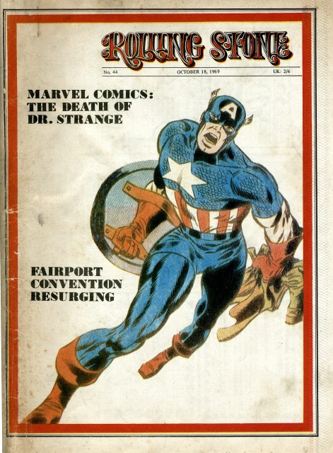 From The Archives: Rolling Stone UK on Marvel Comics, 1969.