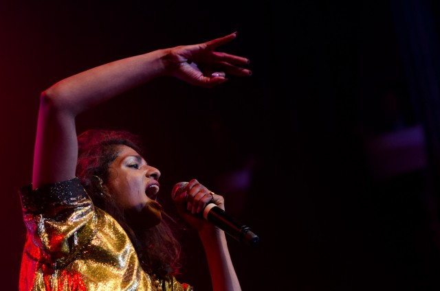 M.I.A. live at Terminal 5, 11/1/2013