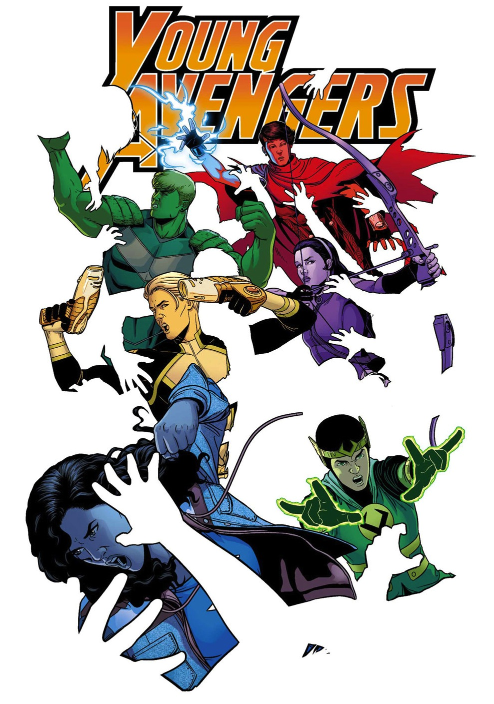 Young Avengers: Now And Forever.