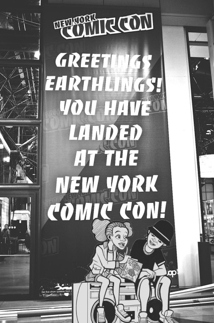 Hip-Hop And Comics At New York Comic-Con 2015!