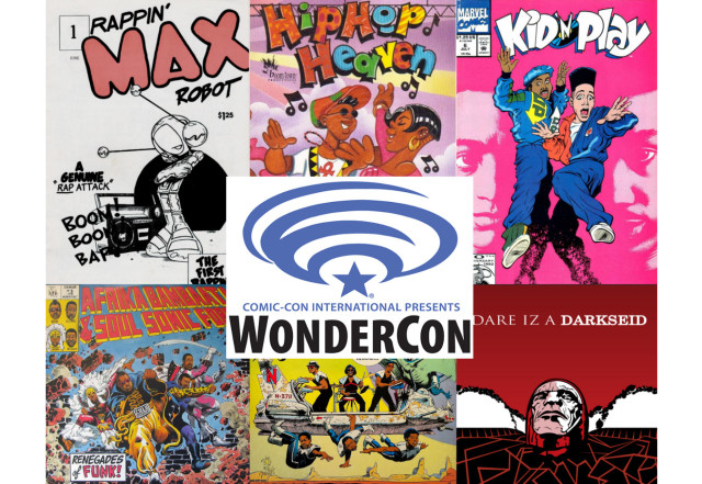 Hip-Hop And Comics: Cultures Combining at WonderCon 2016!
